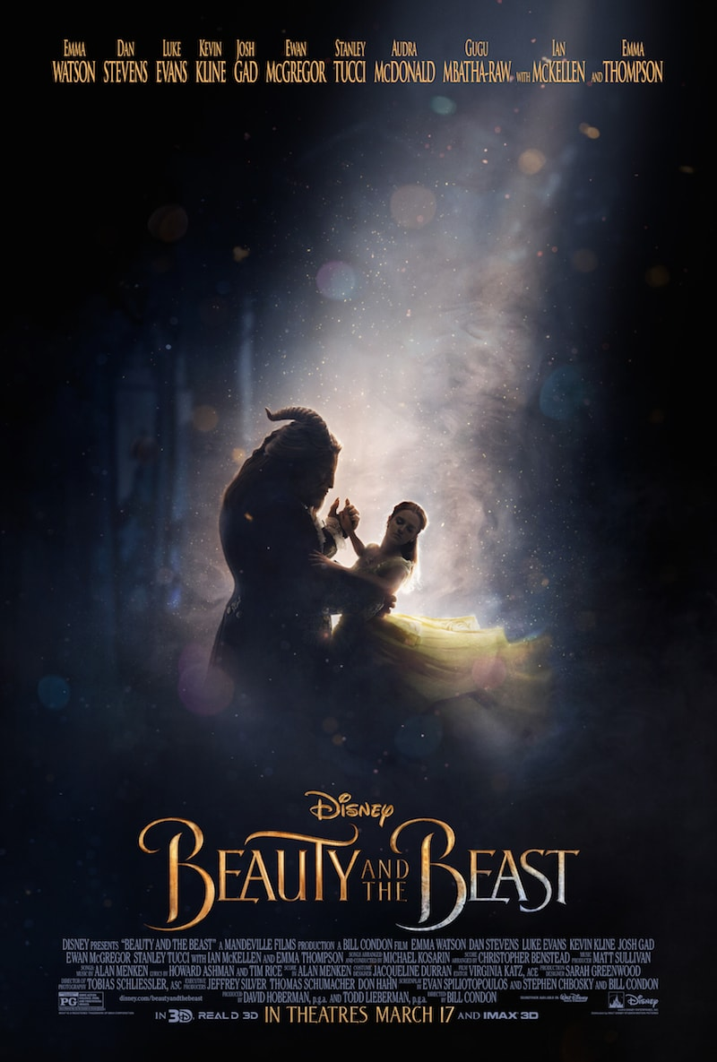 2017 List of Disney Movies - Beauty and the Beast