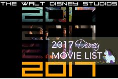 2017 List of Disney Movies with Trailers