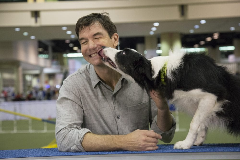 Jerry O'Connell at the Royal Canin Dog Show