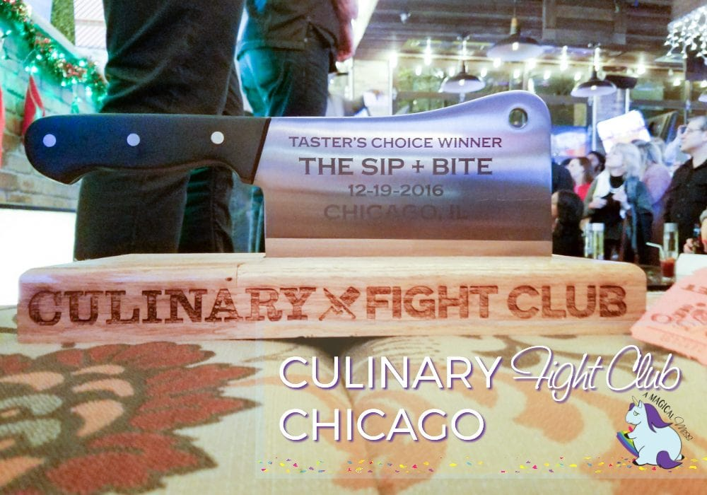 Culinary Fight Club Chicago - Great cause and a ton of fun!