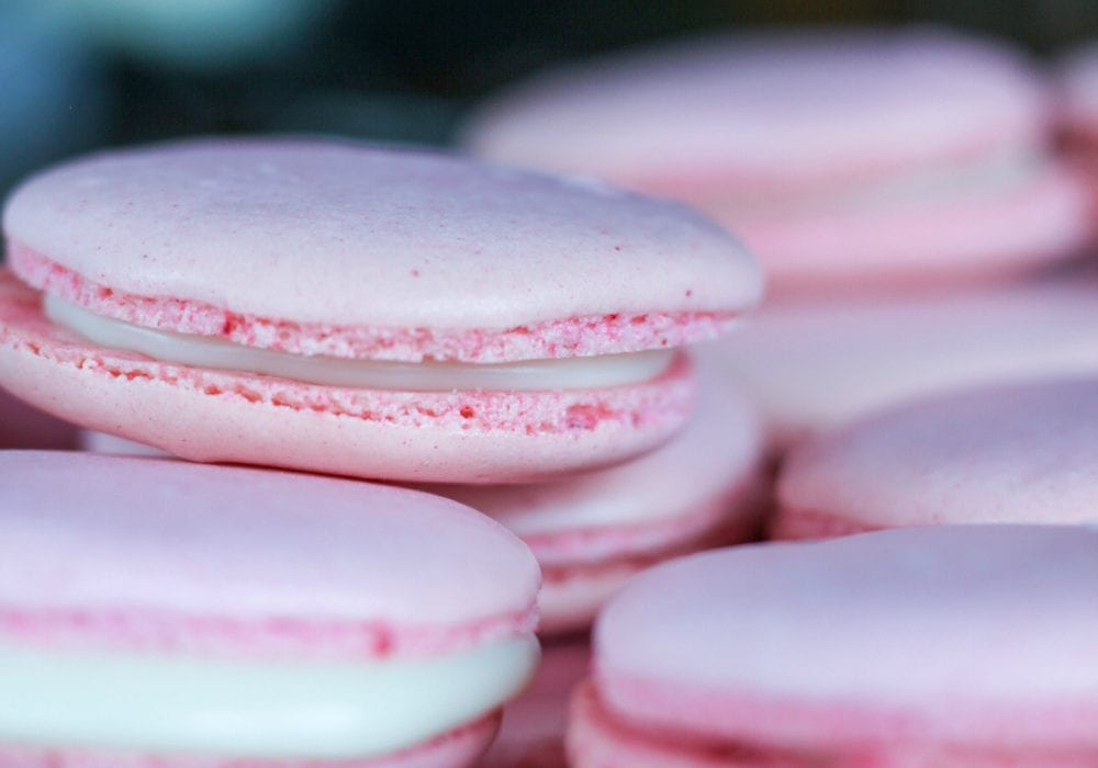 Pink Coconut French Macaron Recipe
