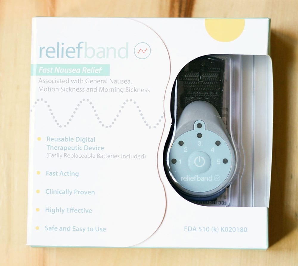 Relief band in the box