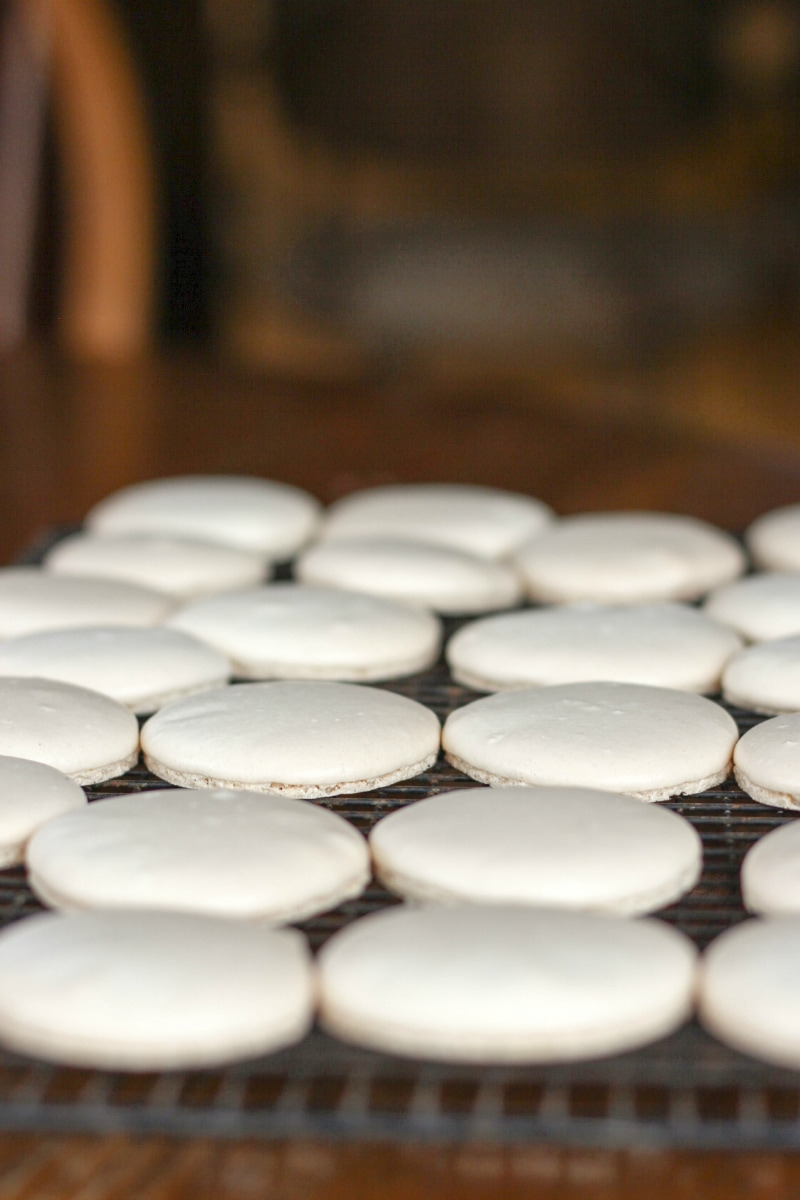 White Coconut French Macaron Recipe
