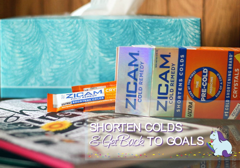 Shorten Your Cold and Get Back to your Goals