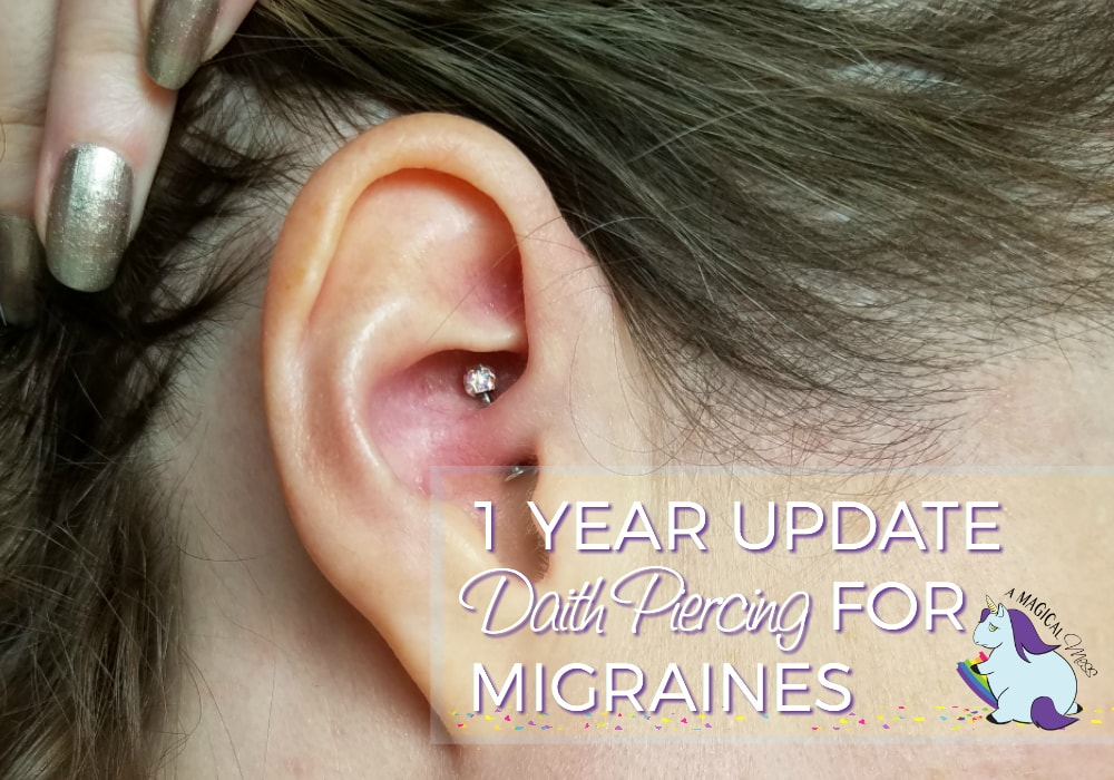 Migraine Piercing 1 Year Results After Daith Piercing For Headaches