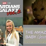How To Hold Baby Groot On the Set of Guardians of the Galaxy Vol. 2