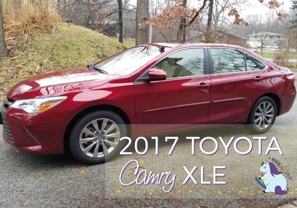 2017 Toyota Camry XLE Review #DriveToyota AD