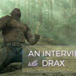 Dave Bautista Interview as Drax on set of Guardians of the Galaxy Vol. 2