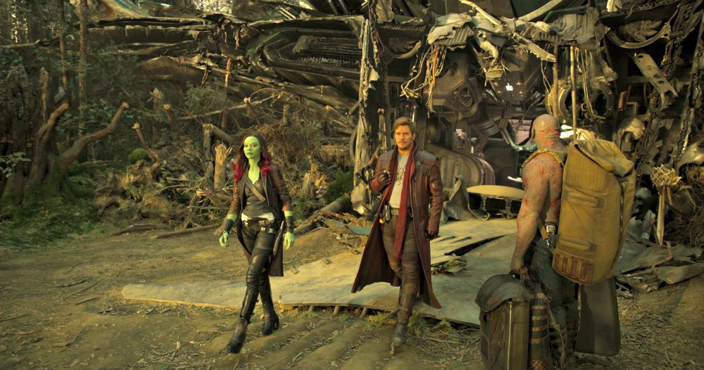Zoe Saldana Interview as Gamora on Love, Relationships, and Health #GotGVol2