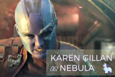 Adorable Karen Gillan Interview as Nebula on set of Guardians of the Galaxy Vol. 2