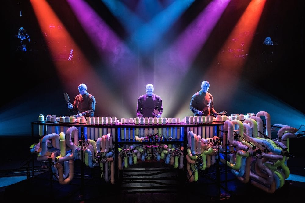 Interview with Blue Man Group Chicago