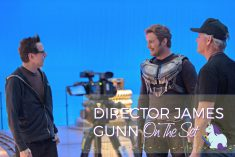 Watching James Gunn Direct Guardians of the Galaxy Vol. 2