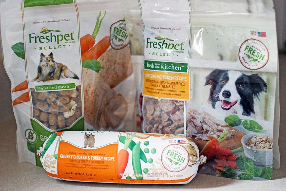 Freshpet natural dog food