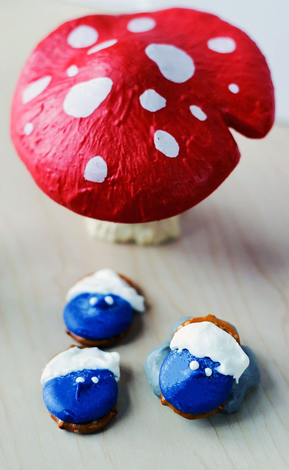 Smurfs Pretzel Candy Recipe
