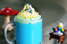 Vanilla Smurfette Blue Drink Recipe for Smurf Fans