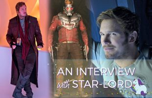 Funny Chris Pratt Guardians of the Galaxy Vol. 2 Interview