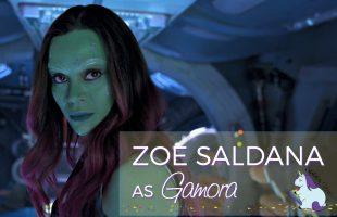 Zoe Saldana Interview as Gamora on Love, Relationships, and Health #GotGVol2