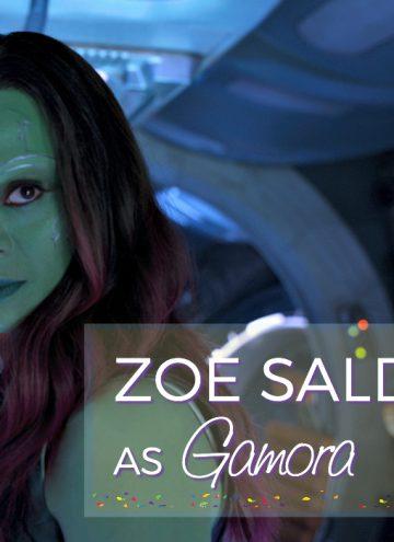 Zoe Saldana Interview as Gamora on Love, Relationships, and Health