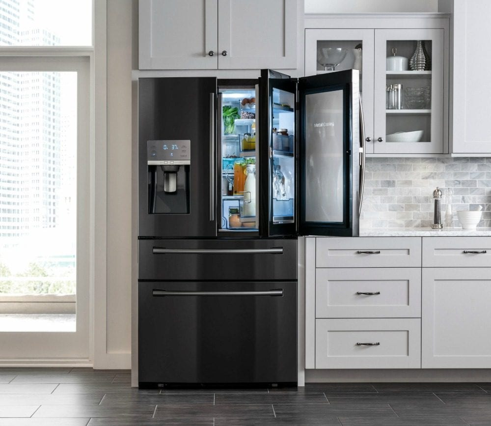 Samsung Refrigerator Remodel - French four door