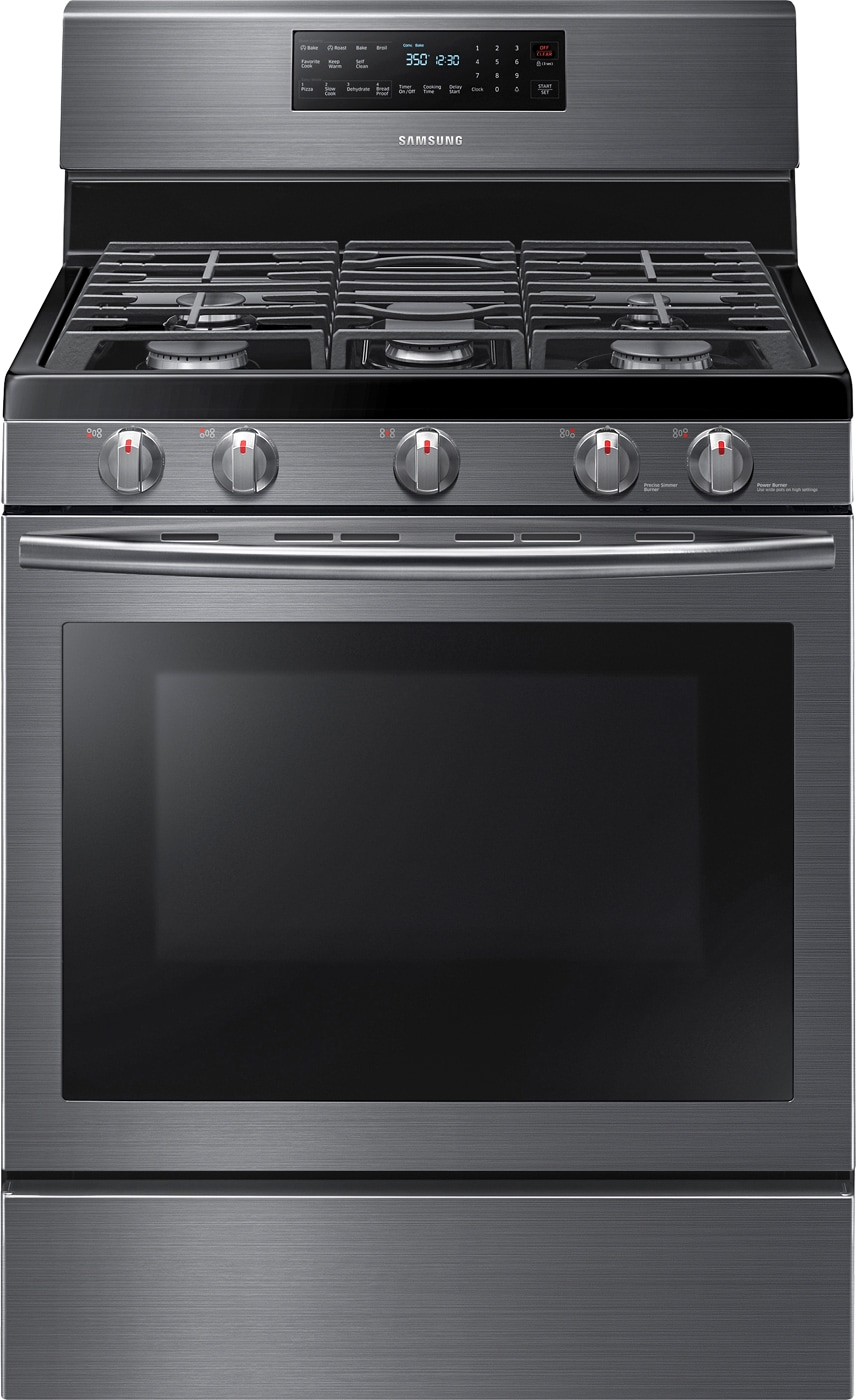 Self-Cleaning Freestanding Gas Convection Range