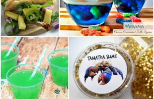 Moana Crafts and Recipes for the Best Movie Night