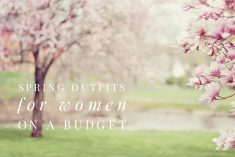 Versatile and Cute Spring Outfits for Women on a Budget