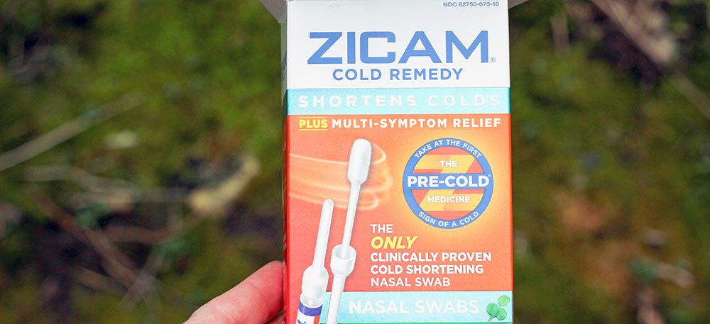 Zicam® Cold Remedy Nasal Swabs