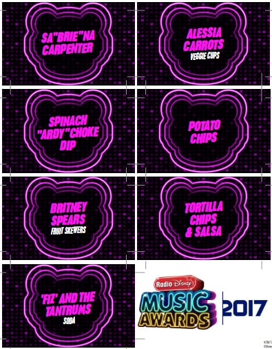 How to Host the Best Radio Disney Music Awards Viewing Party with Printables