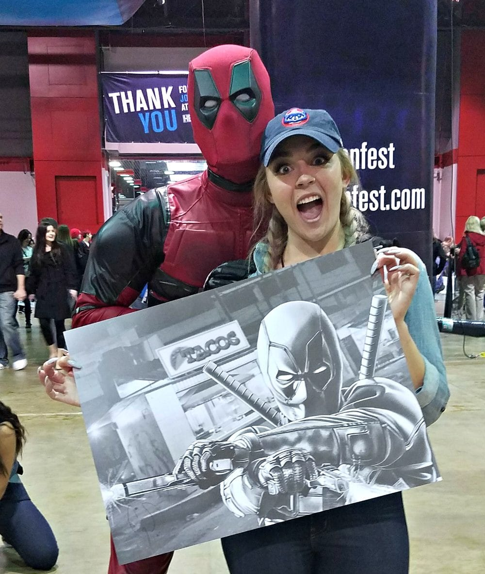 Deadpool Heroes & Villains + Walker Stalker Con = Fan Fest Chicago 2017