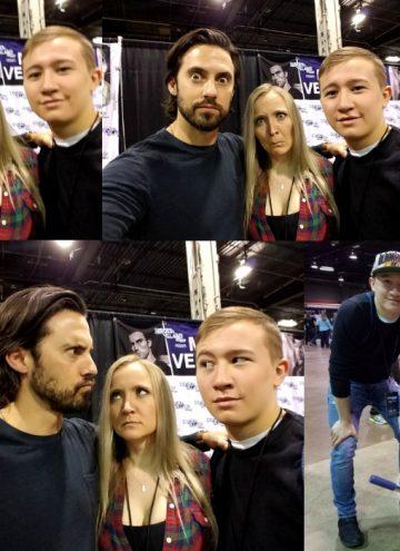 Heroes & Villains + Walker Stalker Con = Fan Fest Chicago 2017