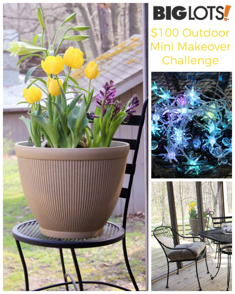 Outdoor Furniture Mini Makeover Challenge Boosts the Mood of the Whole House