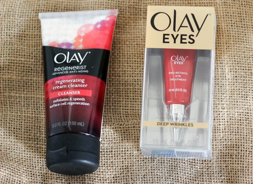 Olay Regenerist products to help fight aging skin problems