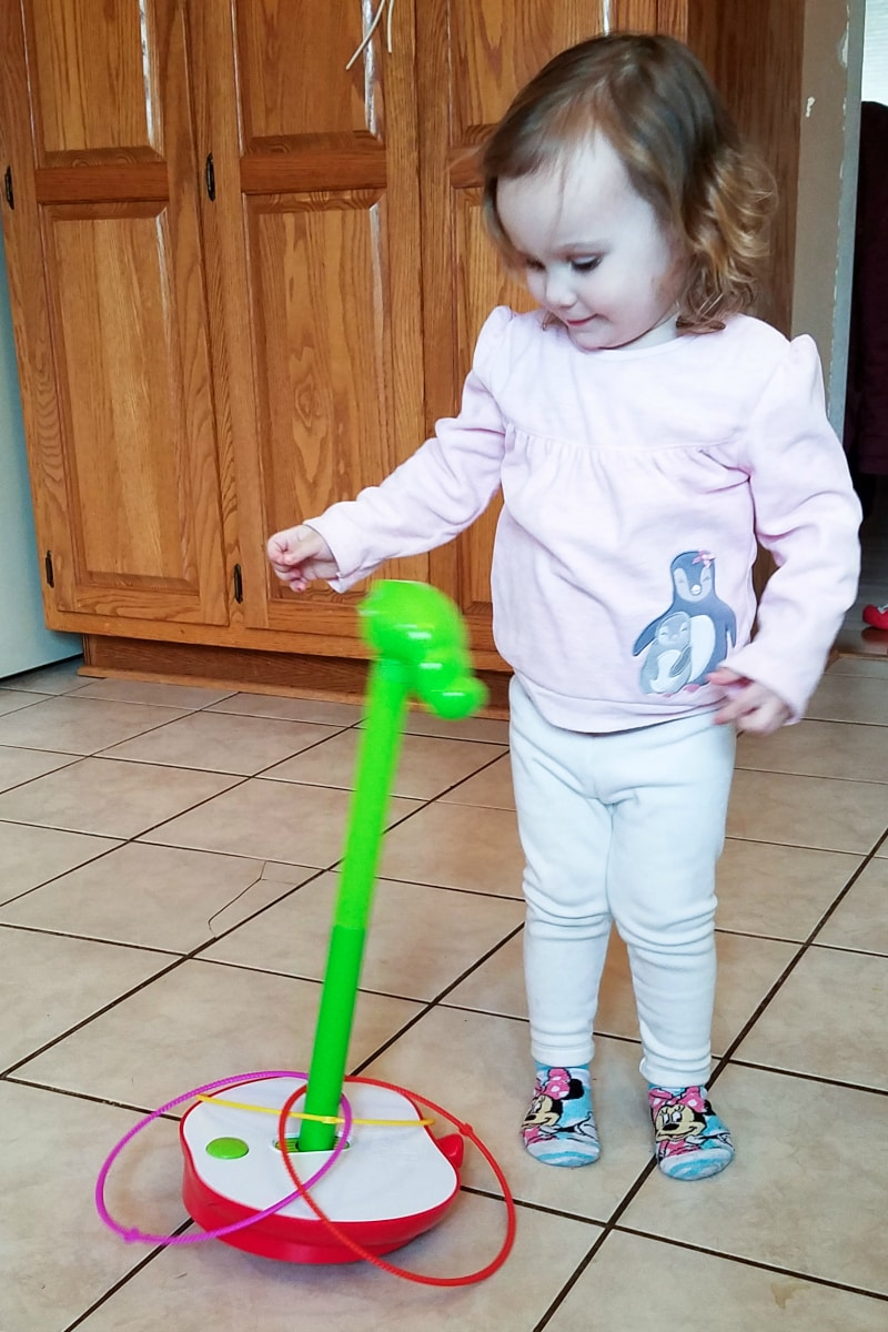 Get the Whole Faming Laughing and Moving with the Wobbly Worm Game