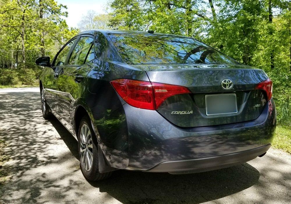 2017 Toyota Corolla back