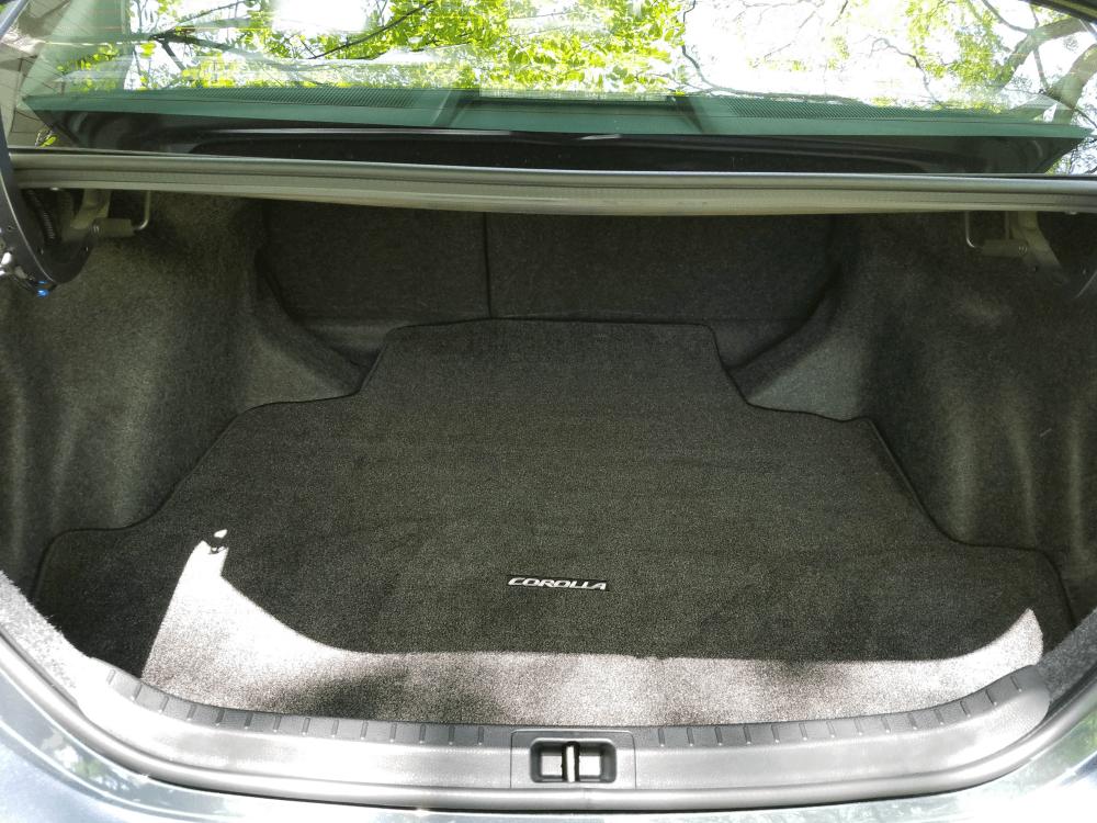 2017 Toyota Corolla Trunk