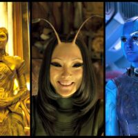 Ayesha, Mantis, and Nebula - An Intergalactic Threesome