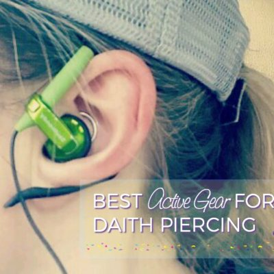 Accessories for Migraine Piercing + Best Daith Earrings for Active People