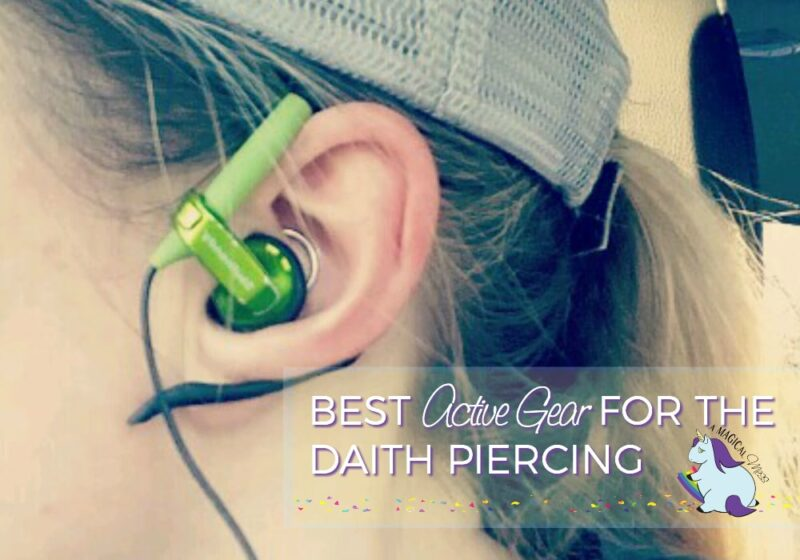 Accessories for the Migraine Piercing and Best Daith Earrings for Active People