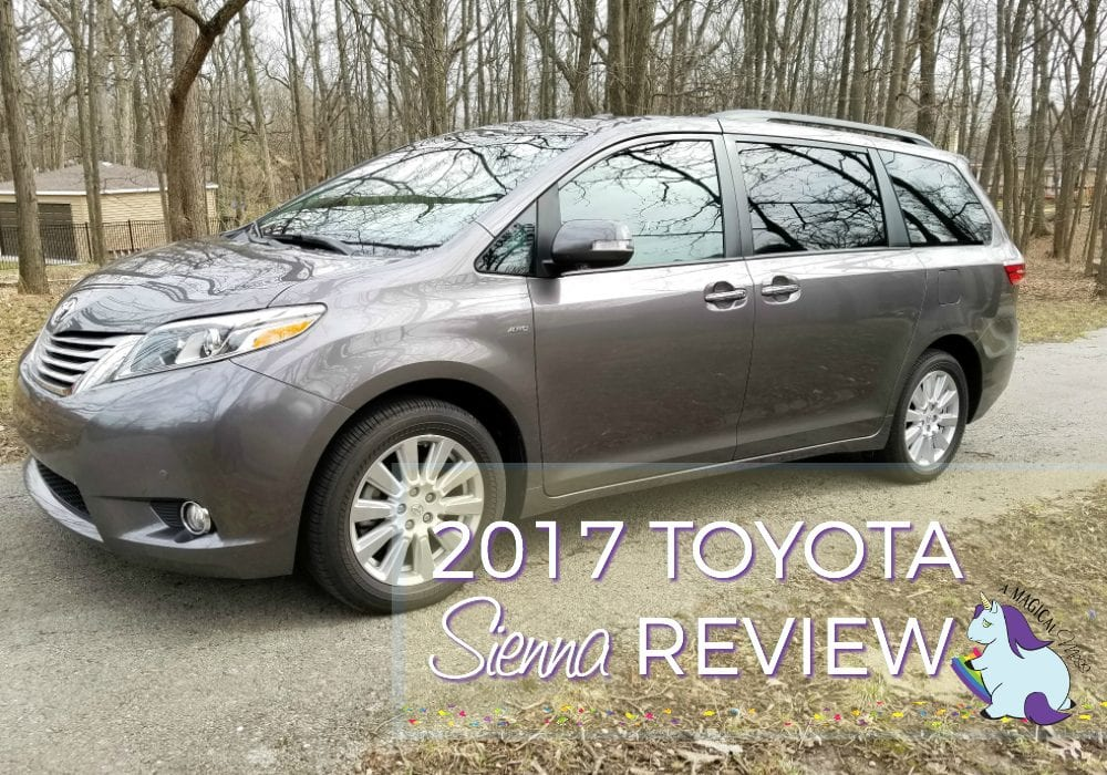 This Vehicle Can Organize Your Life 2017 Toyota Sienna Review