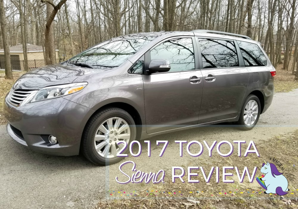 New This Vehicle Can Organize Your Life  2017 Toyota Sienna Review