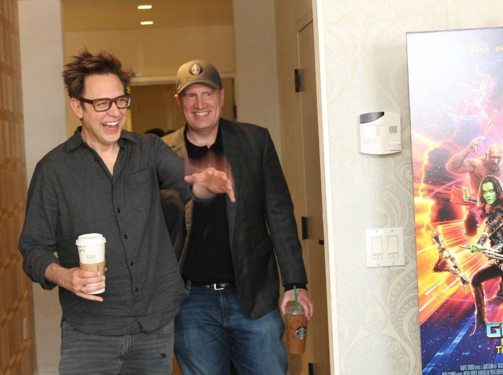 "President of Marvel Studios & Director James Gunn Give us the ""Hot Scoop"""