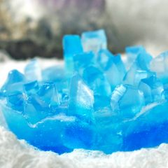 DIY Crystal Soap that Looks Like Gemstones
