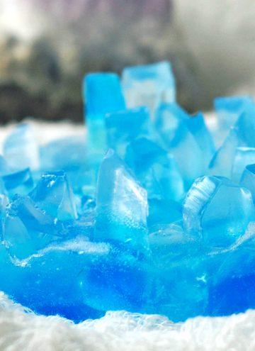 DIY Crystal Soap