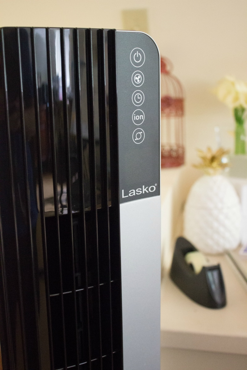 Lasko Tower Fans for the Win #LaskoFanClub #ImAFan AD