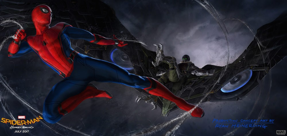 Spider-Man: Homecoming concept art