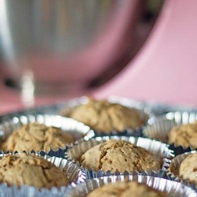 Cinnamon Muffins with the New KitchenAid Mini Mixer