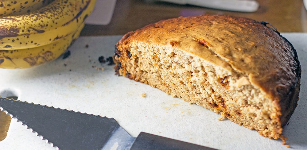 Slow Cooker Banana Bread Recipe with Cinnamon Chips