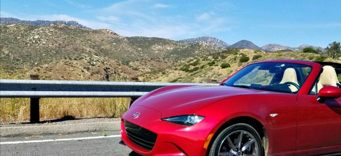 Driving Through Southern California in the 2017 Mazda SUV and Miata RF