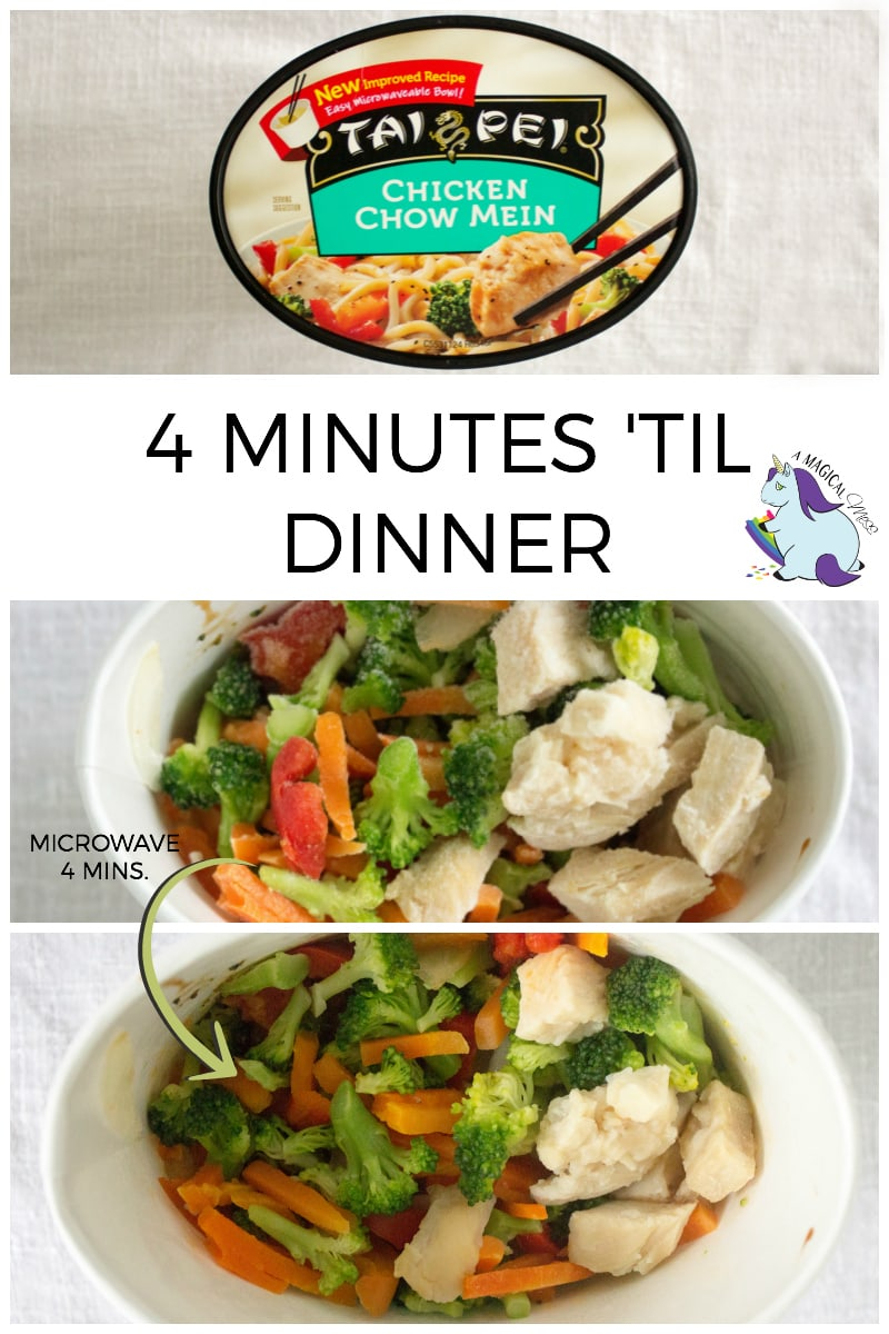 Quick and Easy Dinner Solutions - Tai Pei Frozen Meals #InnerDragon #IC AD