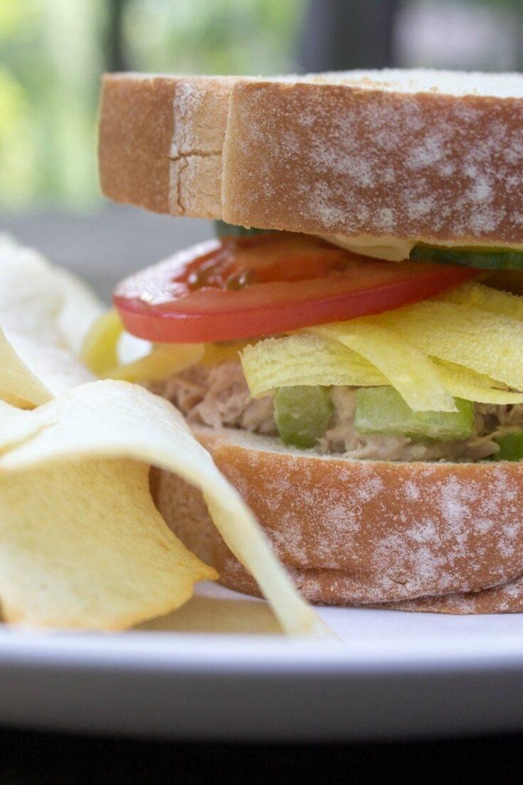 Best Tuna Salad Sandwich Recipe #SargentoAtMeijer #IC